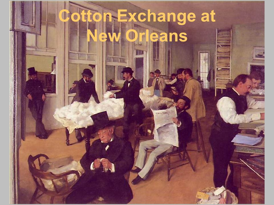 Cotton Exchange at New Orleans