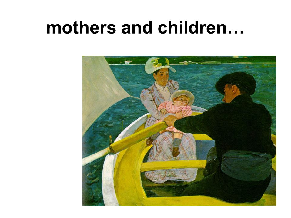 mothers and children…