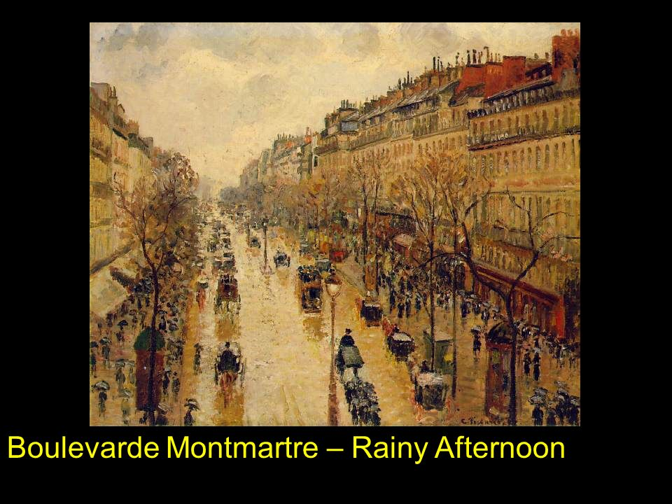 Boulevarde Montmartre – Rainy Afternoon