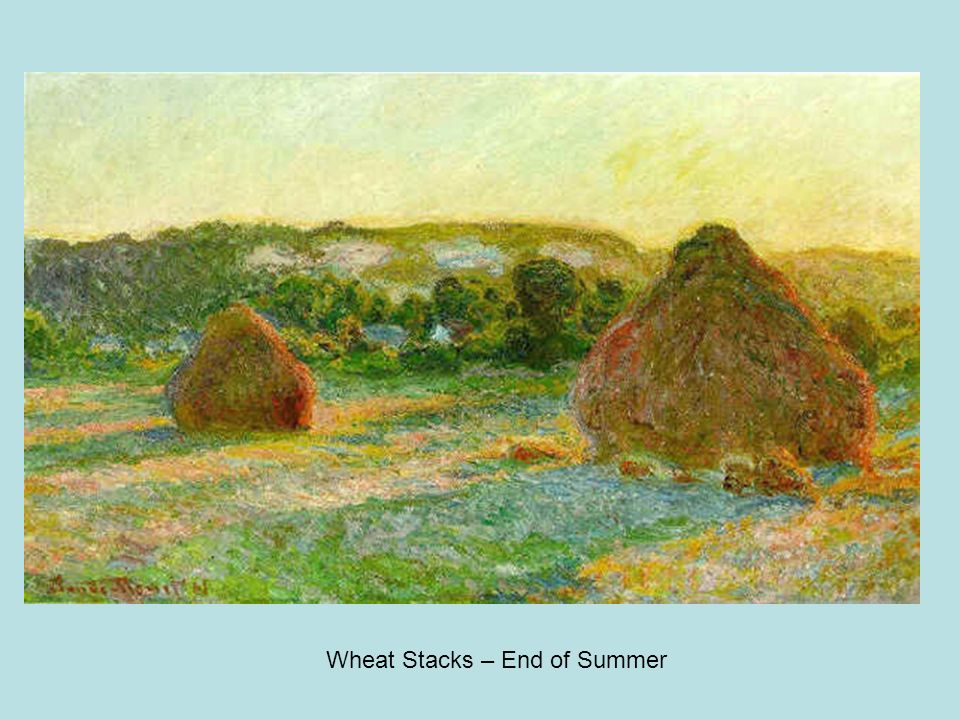 Wheat Stacks – End of Summer