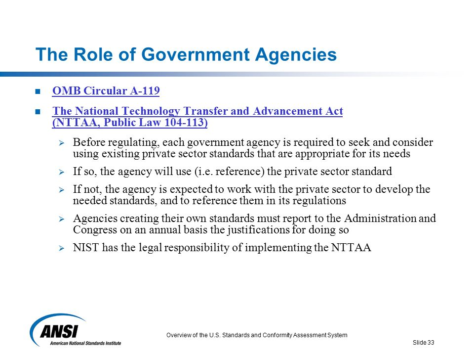 role of federal agencies 29 - the roles and responsibilities of federal law enforcement, immigration the various agencies, bureaus, boards, divisions, programs.