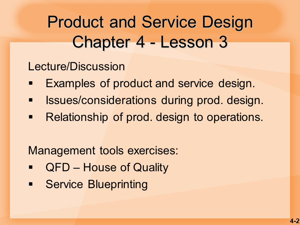 Product and service design ppt video online download product and service design chapter 4 lesson 3 malvernweather Image collections