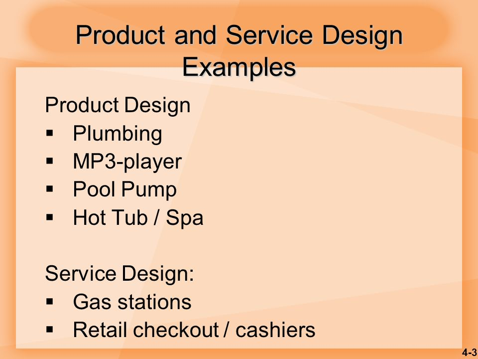 Product and service design ppt video online download for Product service design