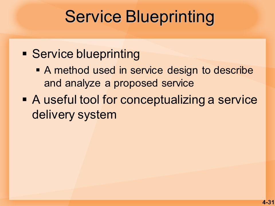 Product and service design ppt video online download 31 service blueprinting service blueprinting malvernweather Image collections