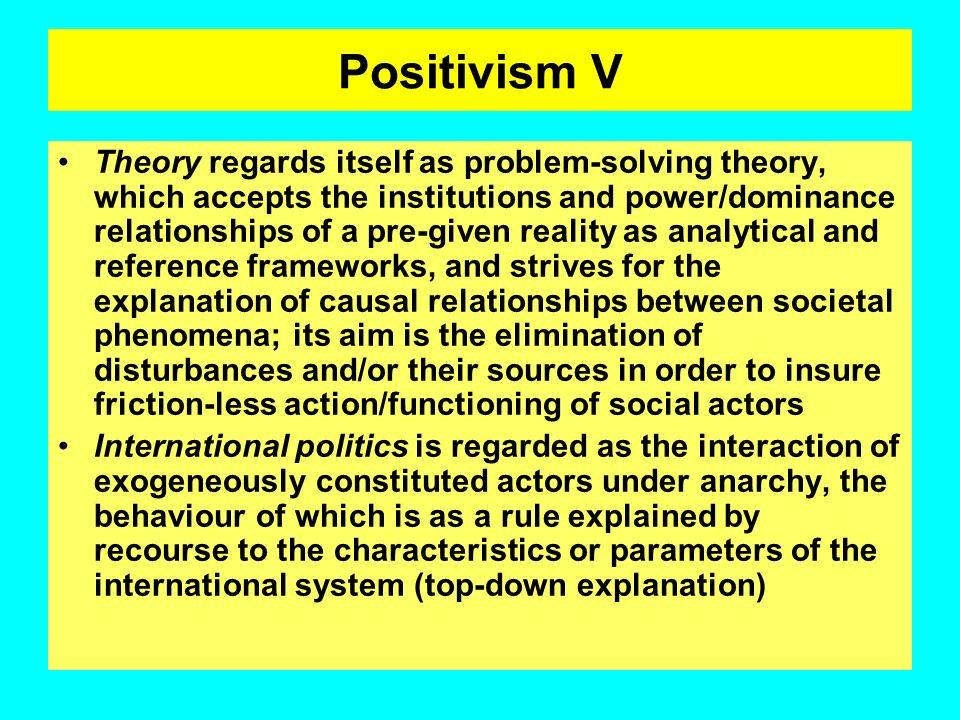 Positivism V