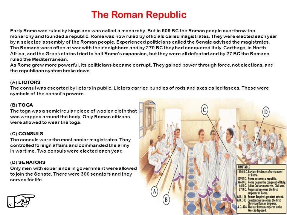 The Roman Empire The Roman Republic The Imperial Age The Roman – Roman Republic Worksheet