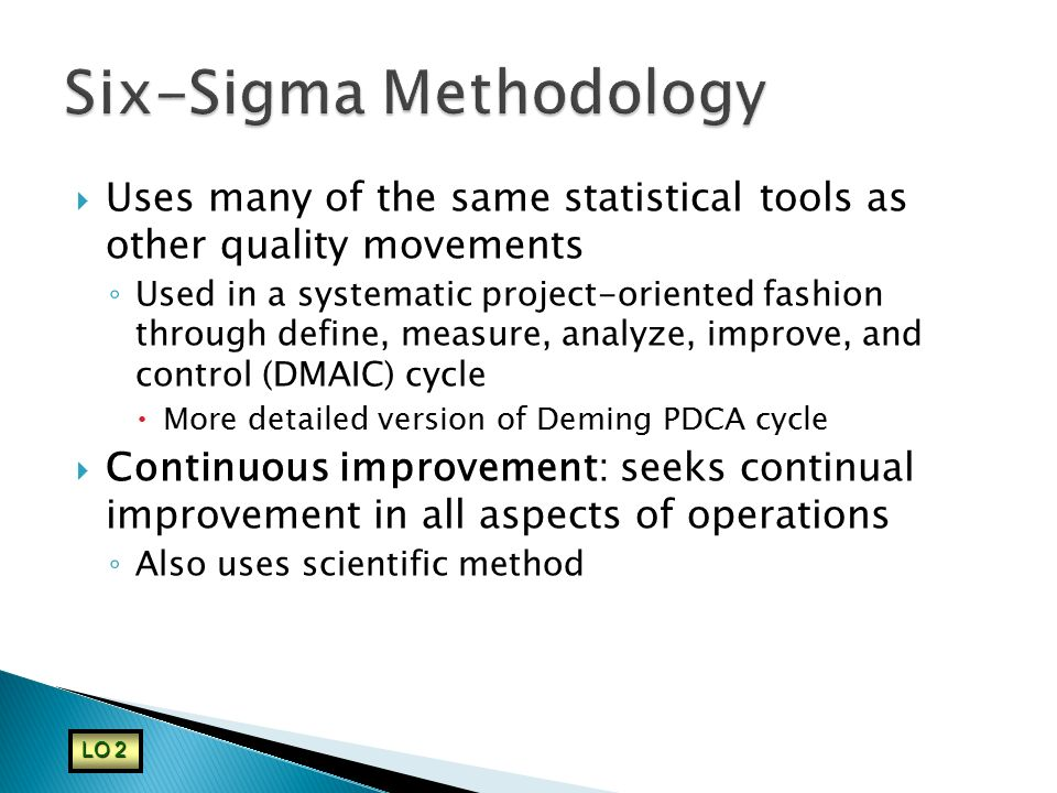 Six-Sigma Methodology