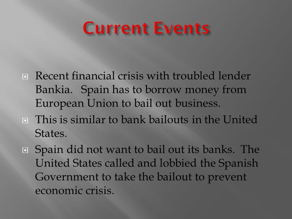 us financial crisis bail out Failing banks, bail-ins, and central bank independence: lessons from cyprus  panicos demetriades 21 february 2018.