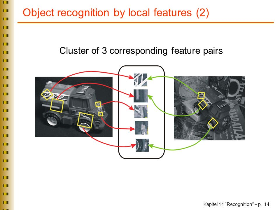 Object recognition by local features (2)