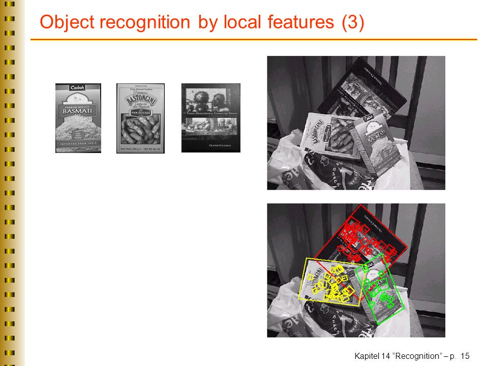 Object recognition by local features (3)