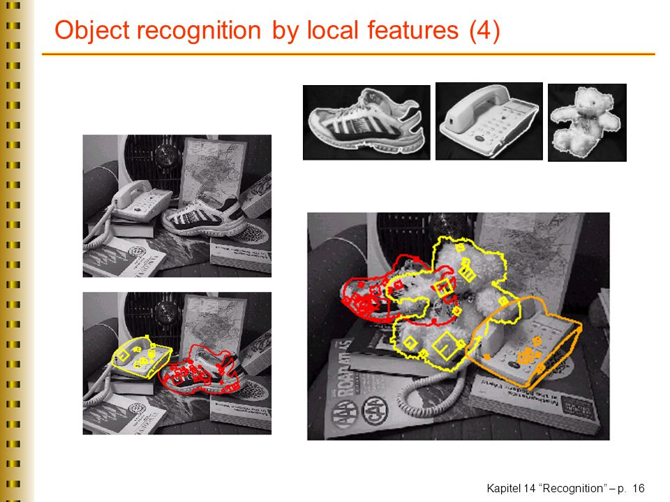Object recognition by local features (4)
