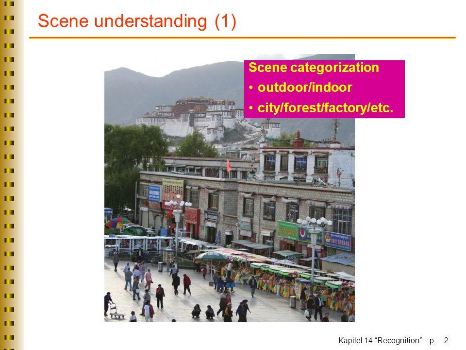 Scene understanding (1)