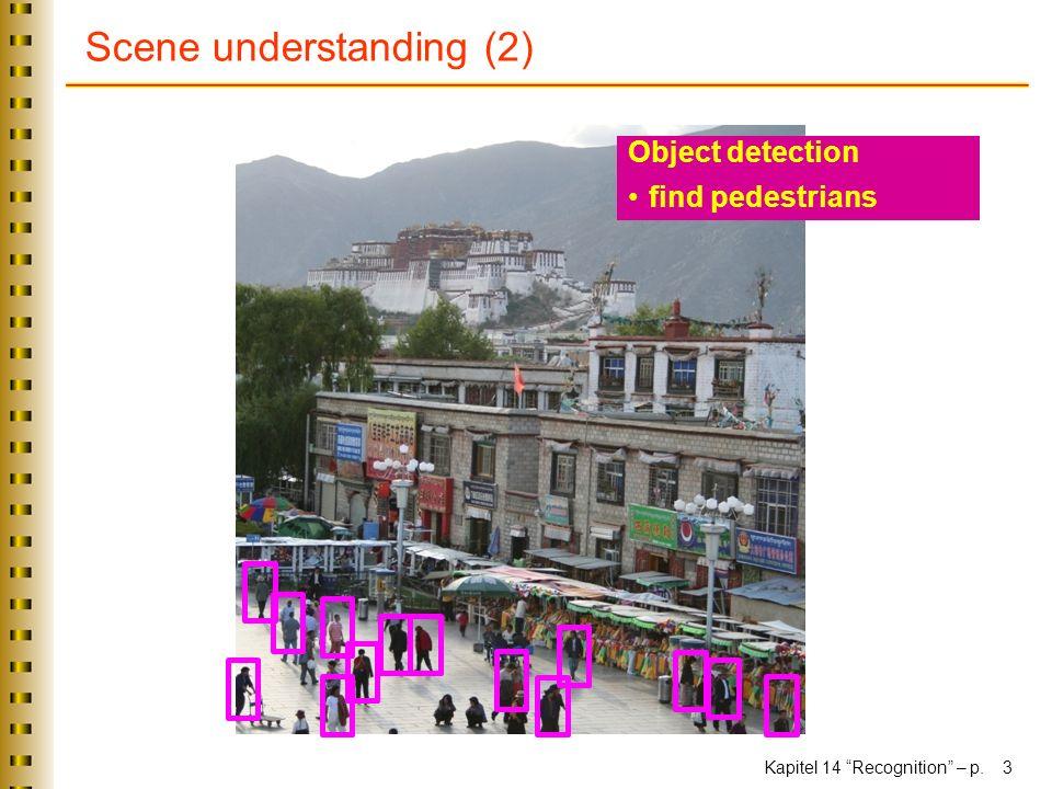 Scene understanding (2)