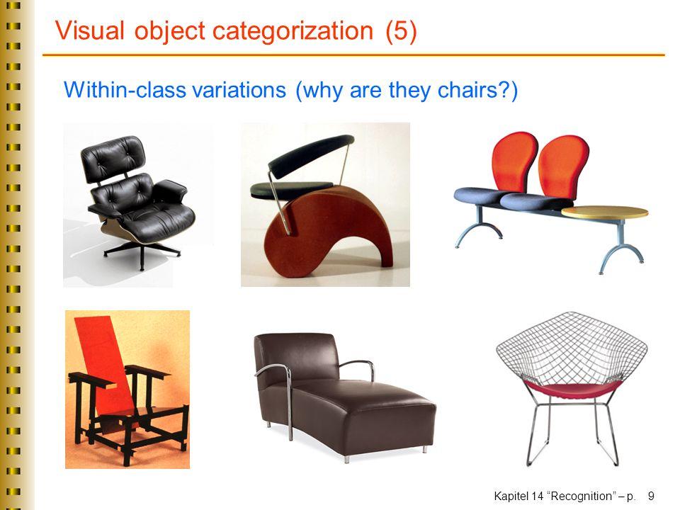 Visual object categorization (5)