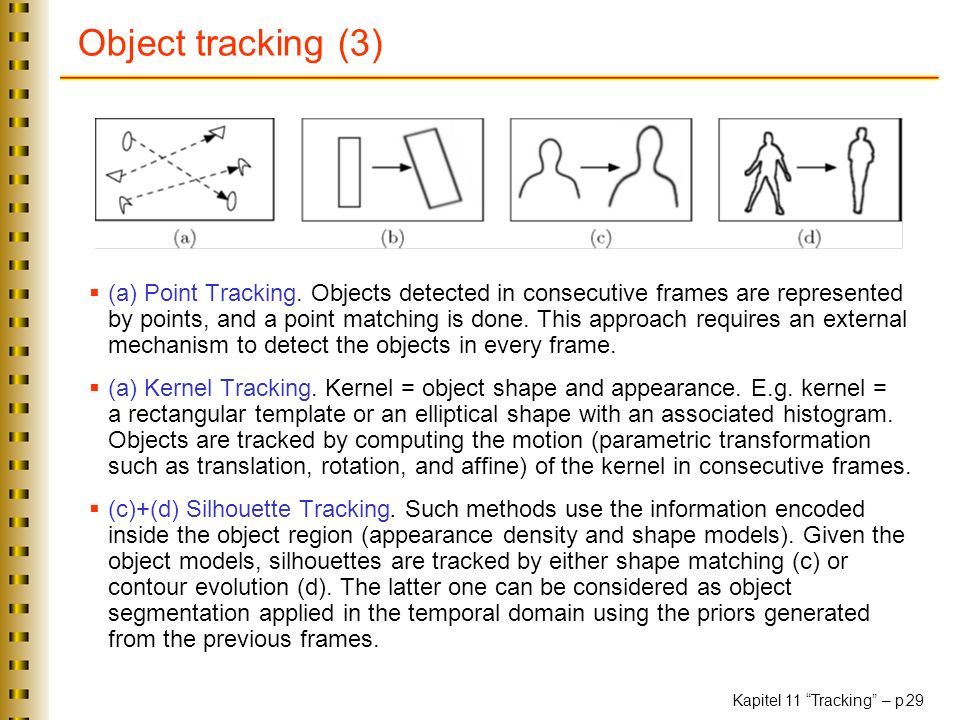 Object tracking (3)
