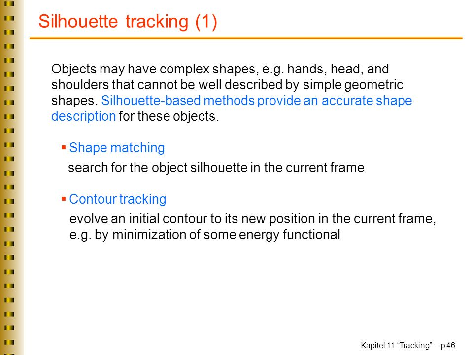 Silhouette tracking (1)