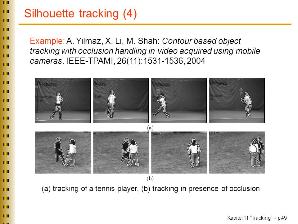 Silhouette tracking (4)
