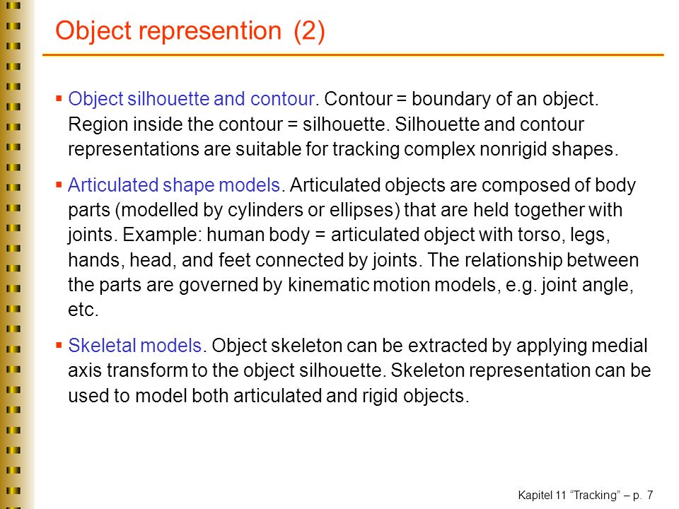 Object represention (2)