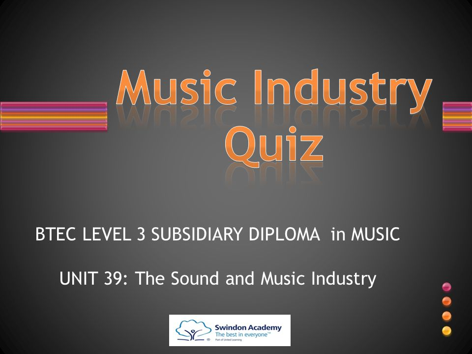 the sound in music industy unit The music business and recording industry is a comprehensive music business textbook focused on the three income streams in the music industry: music.