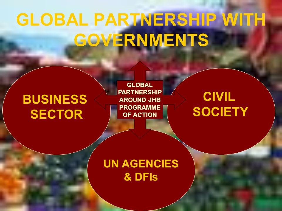 GLOBAL PARTNERSHIP WITH GOVERNMENTS