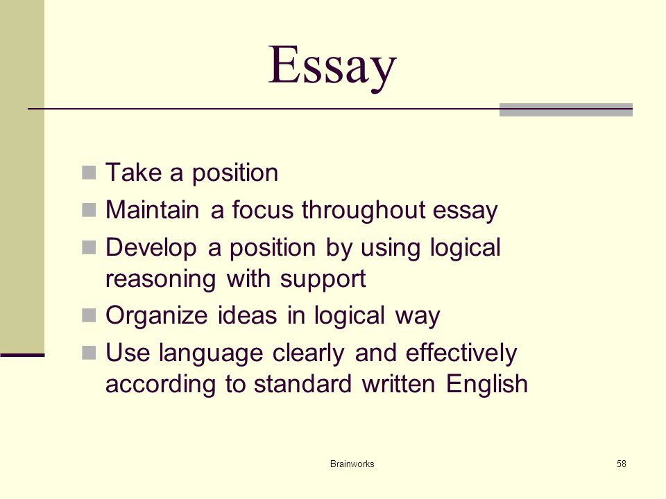 ba english literature with creative writing Taking a position essay