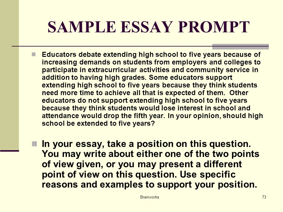three and five point errors essay Writeplacer ® guide with sample  this essay presents a point of view  response around three examples, errors in word choice, usage, sentence structure.
