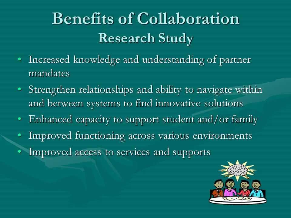 Benefits of Collaboration Research Study