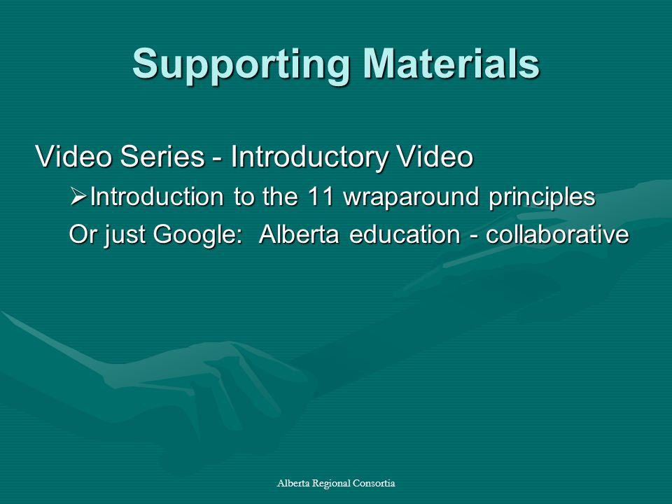 Alberta Regional Consortia