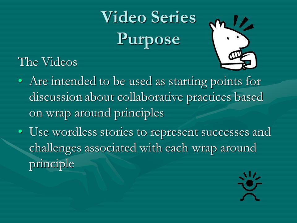 Video Series Purpose The Videos