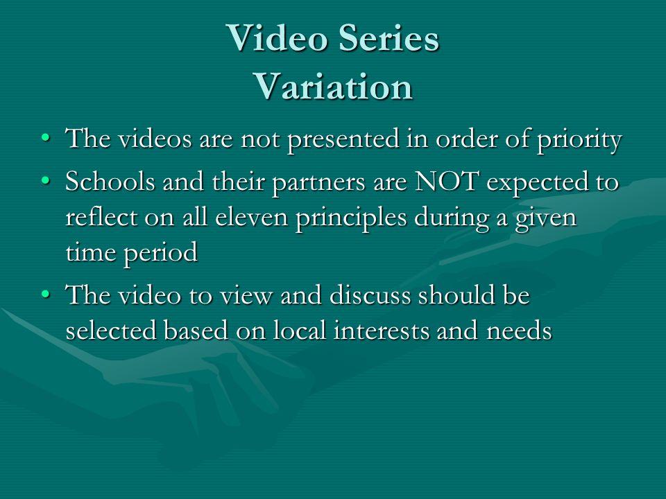 Video Series Variation