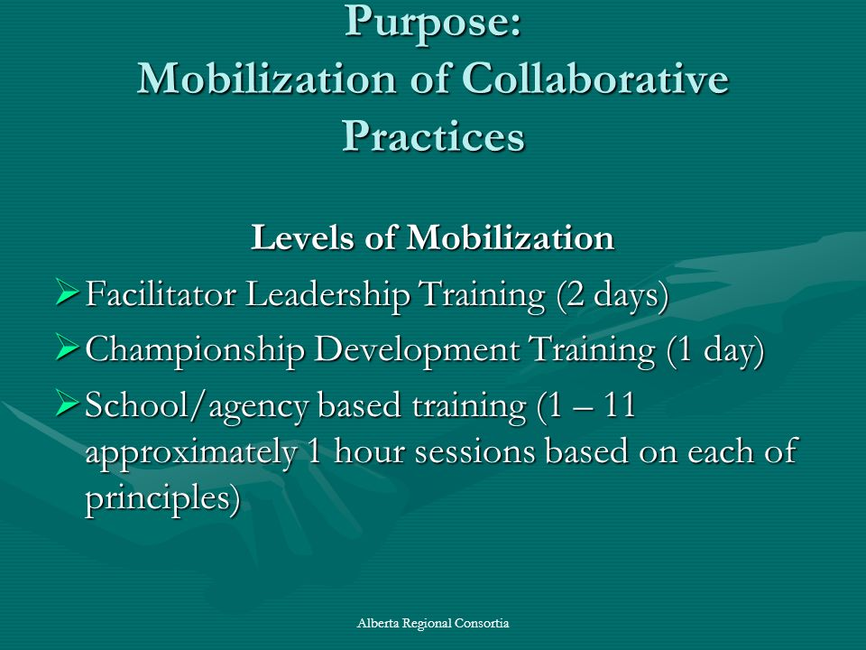 Purpose: Mobilization of Collaborative Practices