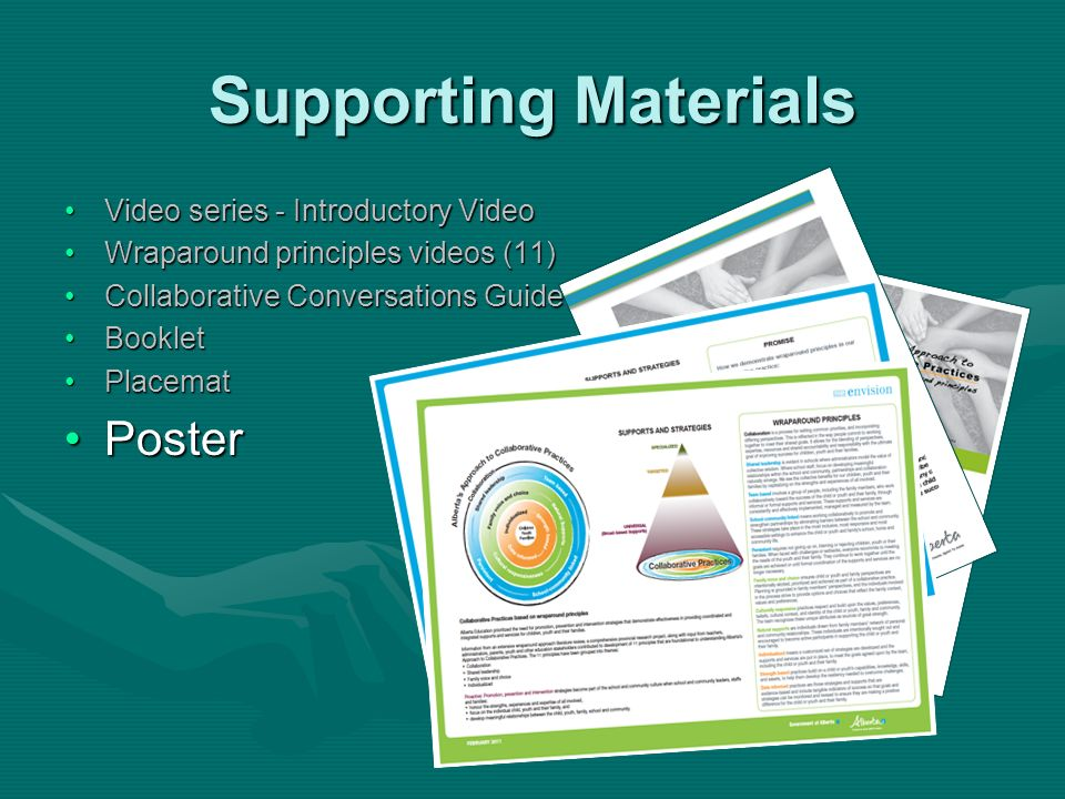 Supporting Materials Poster Video series - Introductory Video