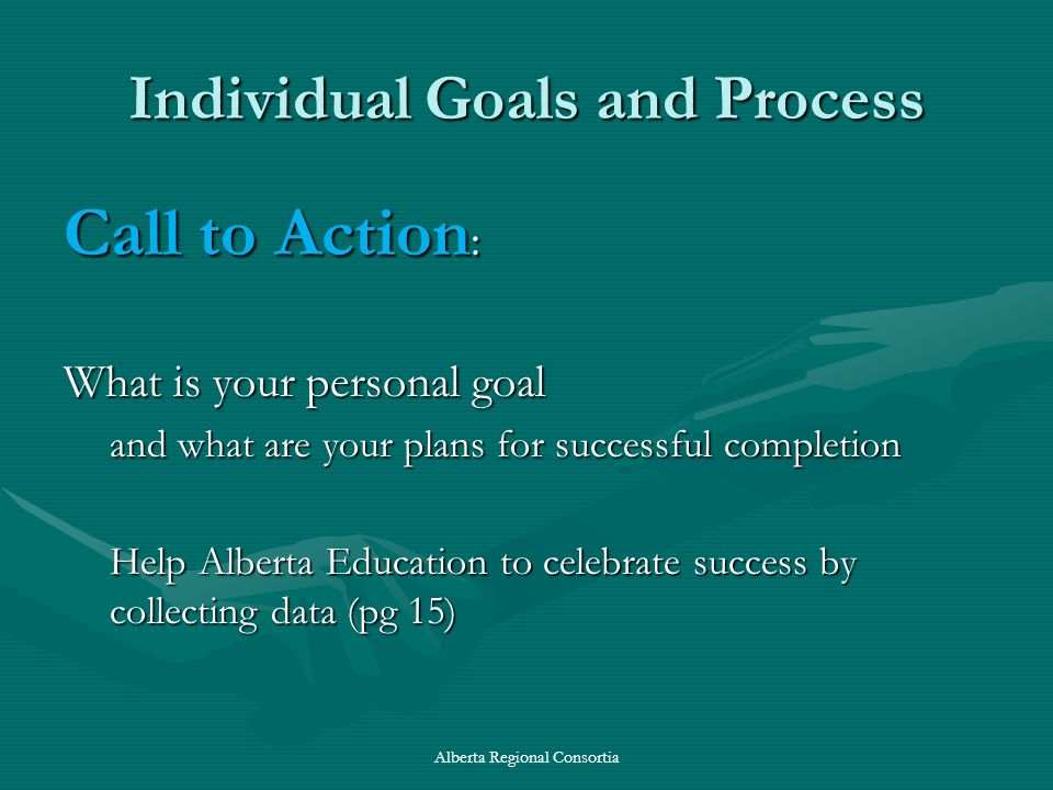Individual Goals and Process