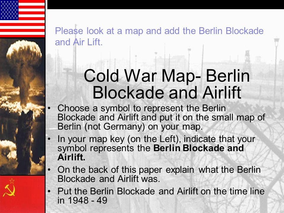 Berlin blockade essay