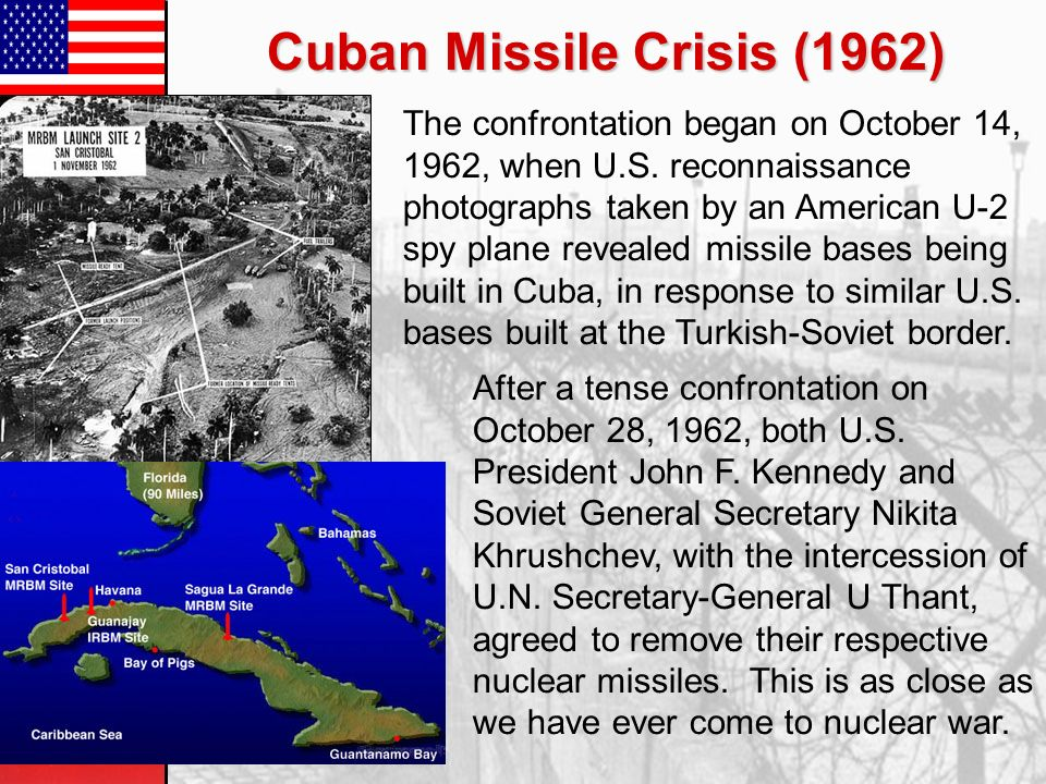the cuban missile crisis the medias delay on information and misrepresentation of the issue What follows are extracts from the journal kept in the s-1 section, primarily by lt millett, throughout the cuban missile crisis: during the summer of 1962, for reasons that still remain partially obscure, soviet premier nikita s khrushchev ordered a dramatic change in the size and type of assistance to cuba and moved toward a confrontation with the.