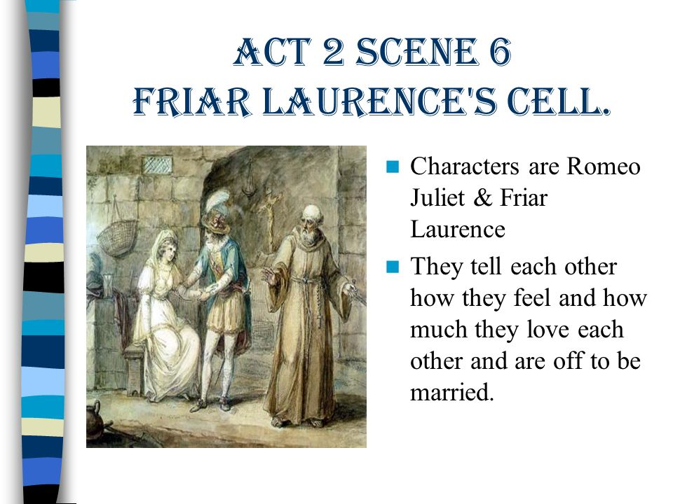 romeo and friar laurence relationship quizzes