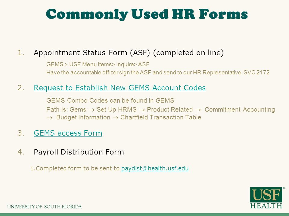 Appointment Request Form Commonly Used Hr Forms Appointment Status