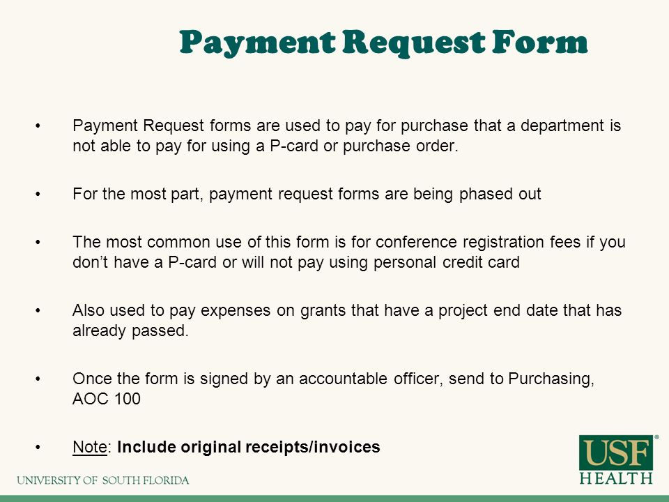 Payment Request Form Submit Corporate Payments Request Form