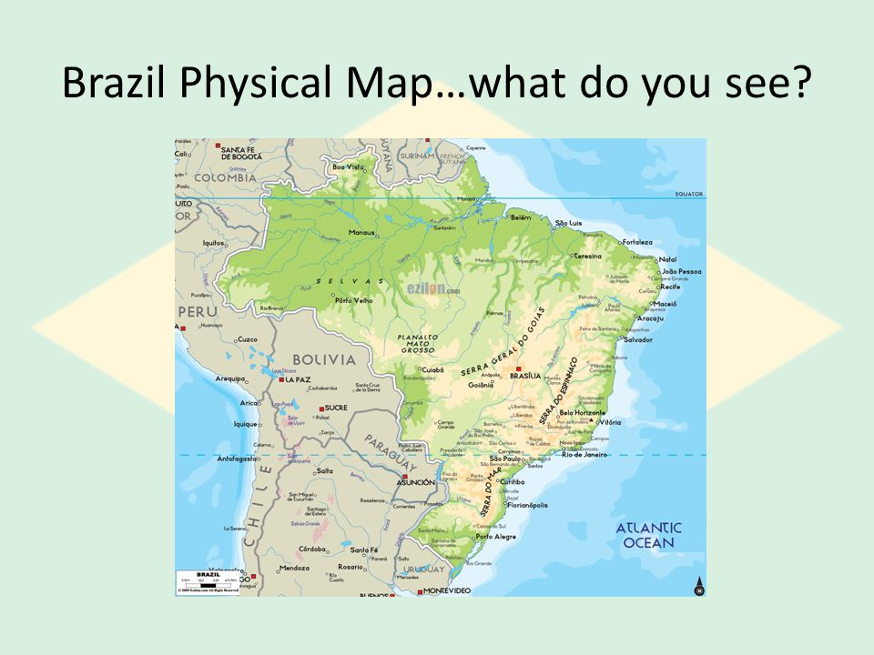 Brazil World Studies Ppt Video Online Download - Brazil map physical
