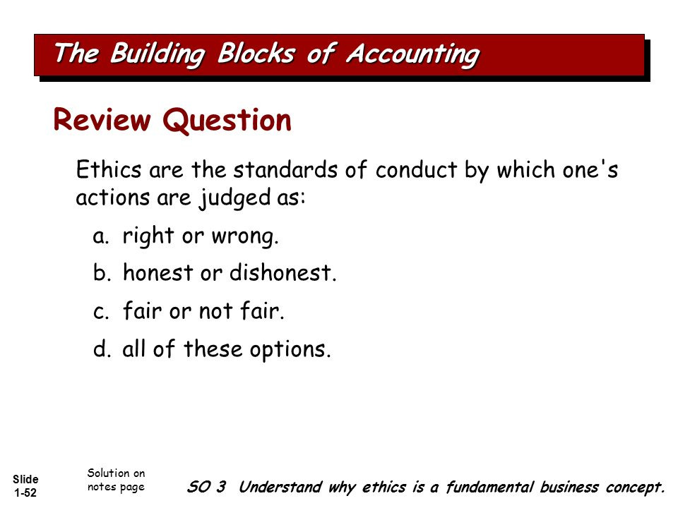 review of accounting ethics Review of accounting ethics corporate ethical breaches in recent times has discouraged investors to make investments in corporation that proper research.