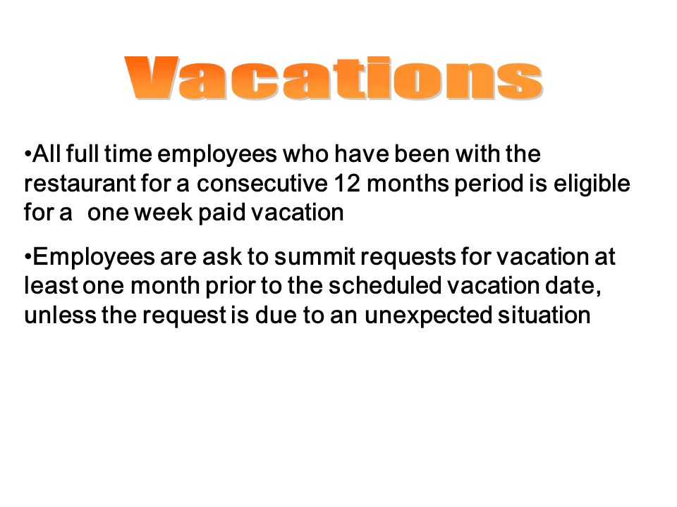 how to ask for vacation time at work