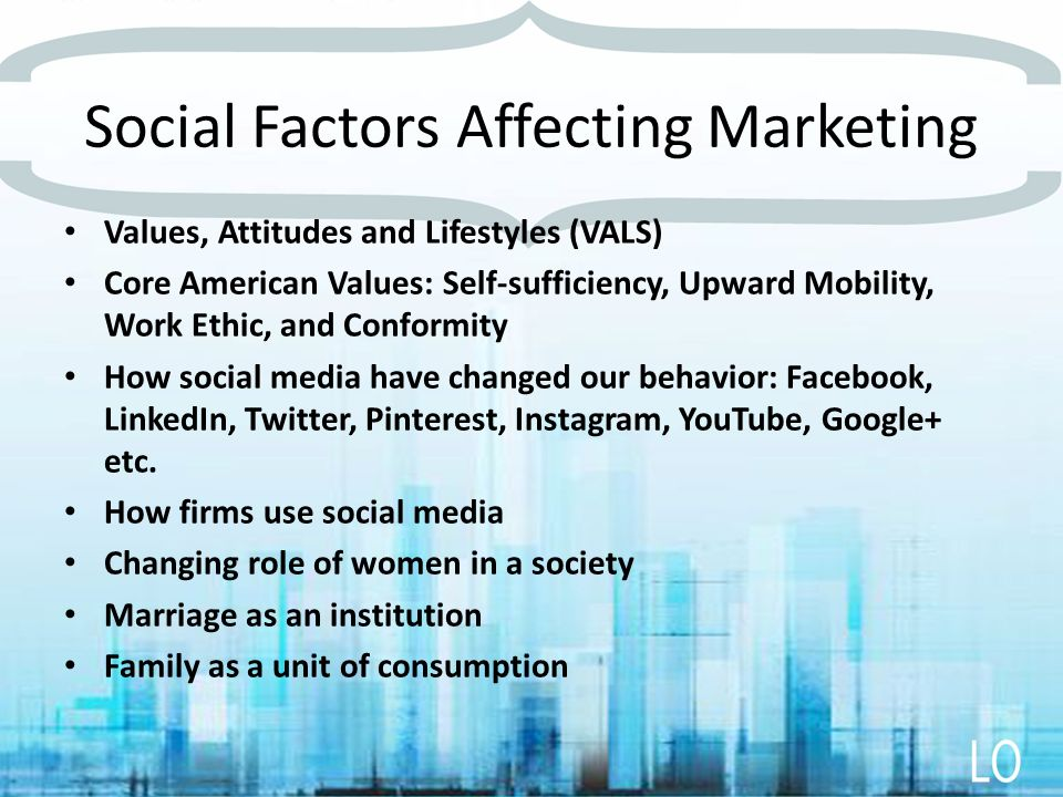 consumer and social factors on iphone marketing essay Cultural factors include a consumer's culture, subculture and social class these factors are often inherent in our values and decision processes social factors include groups (reference groups, aspiration groups and member groups), family, roles and status.