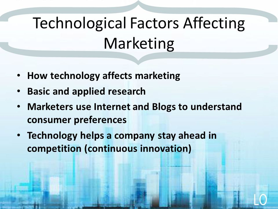 factors affecting marketing To ignore the outside factors is to set yourself up for failed marketing and lost  revenue that can, in turn, affect the health of your entire brand.