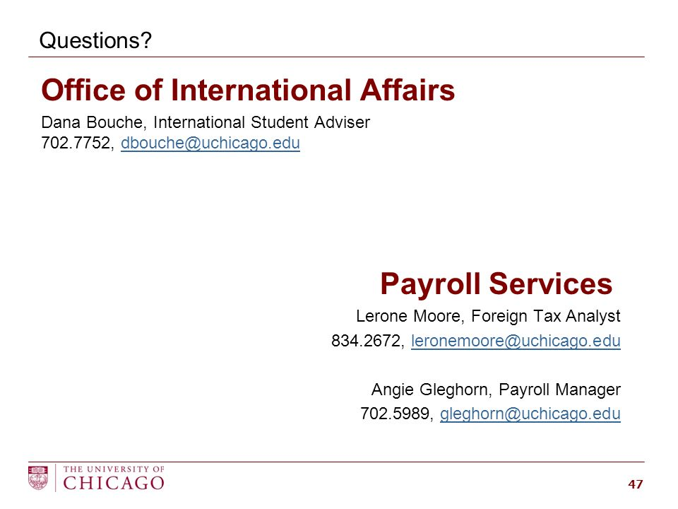 Payroll training for administrators f1 and j1 students - International student services office ...