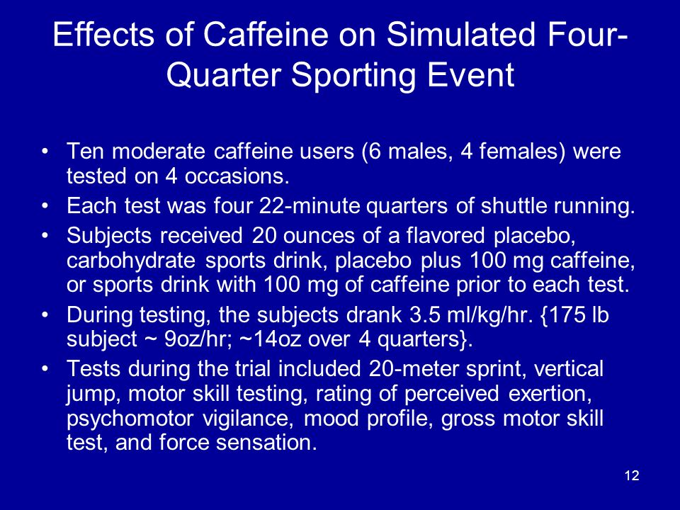 the effect of caffeine on typing speed Whether you get your daily caffeine fix from coffee, tea, or a canned energy drink doesn't make much of a difference it's still a stimulant with some positive and negative effects for starters.