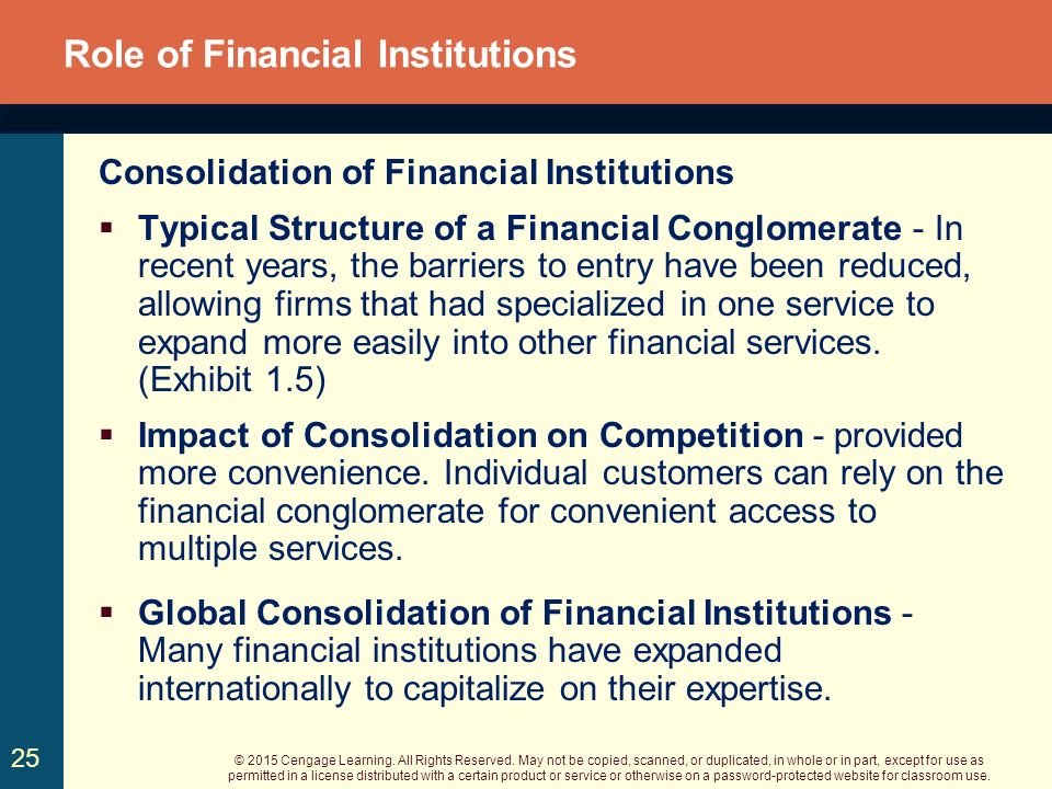 roles of financial markets and institutions essay