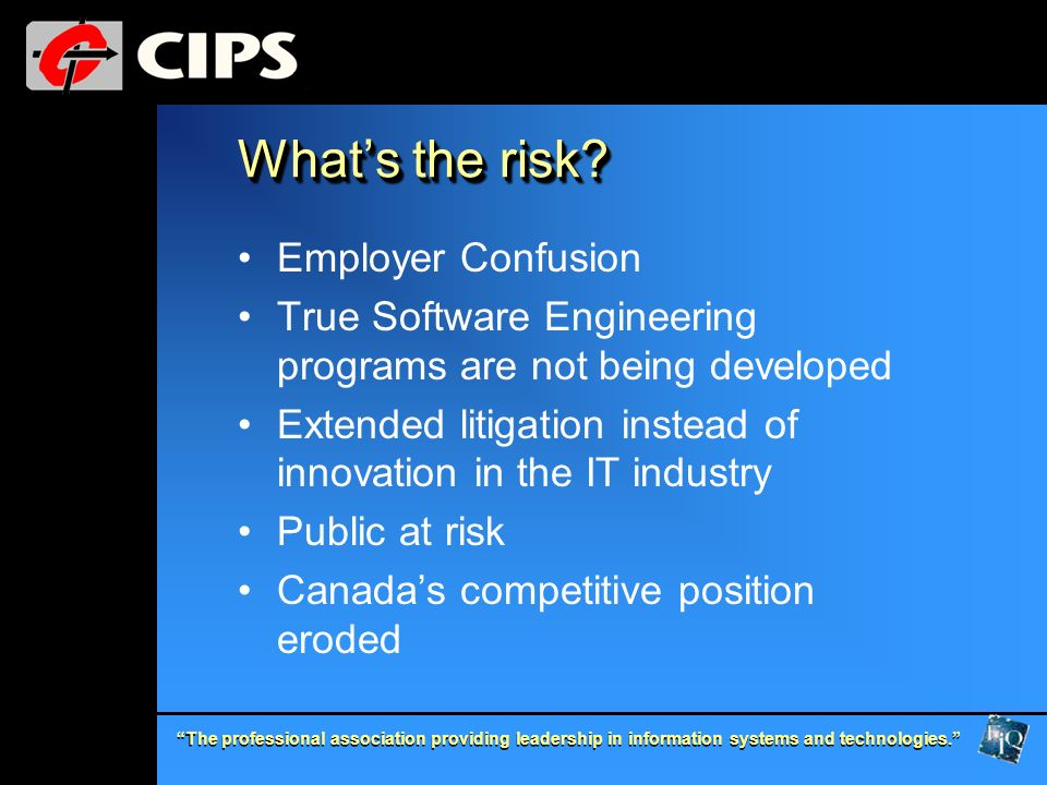 What's the risk Employer Confusion