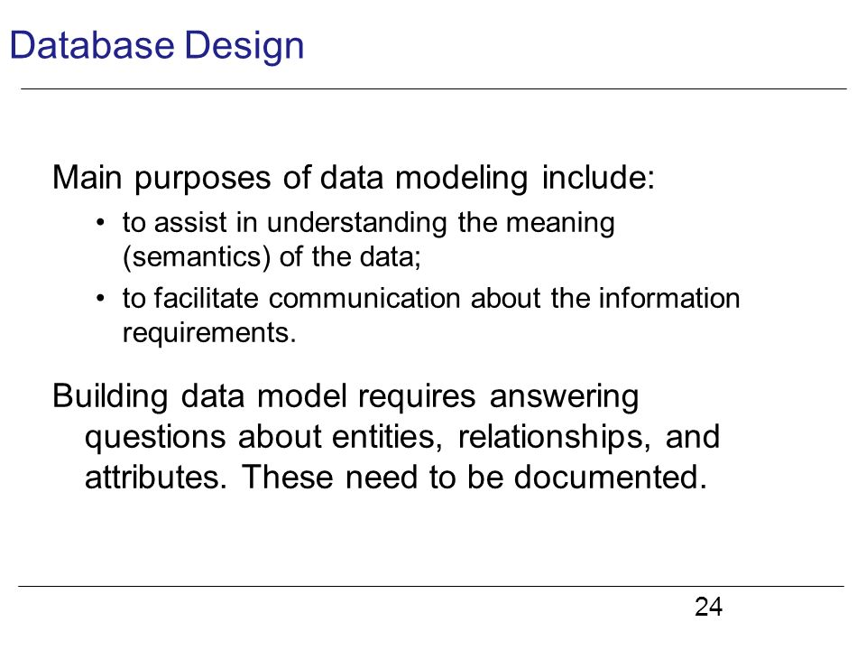 understanding database normalization and its process Normalization should be part of the database design process however, it is difficult to separate the normalization process from the er modelling process so the.