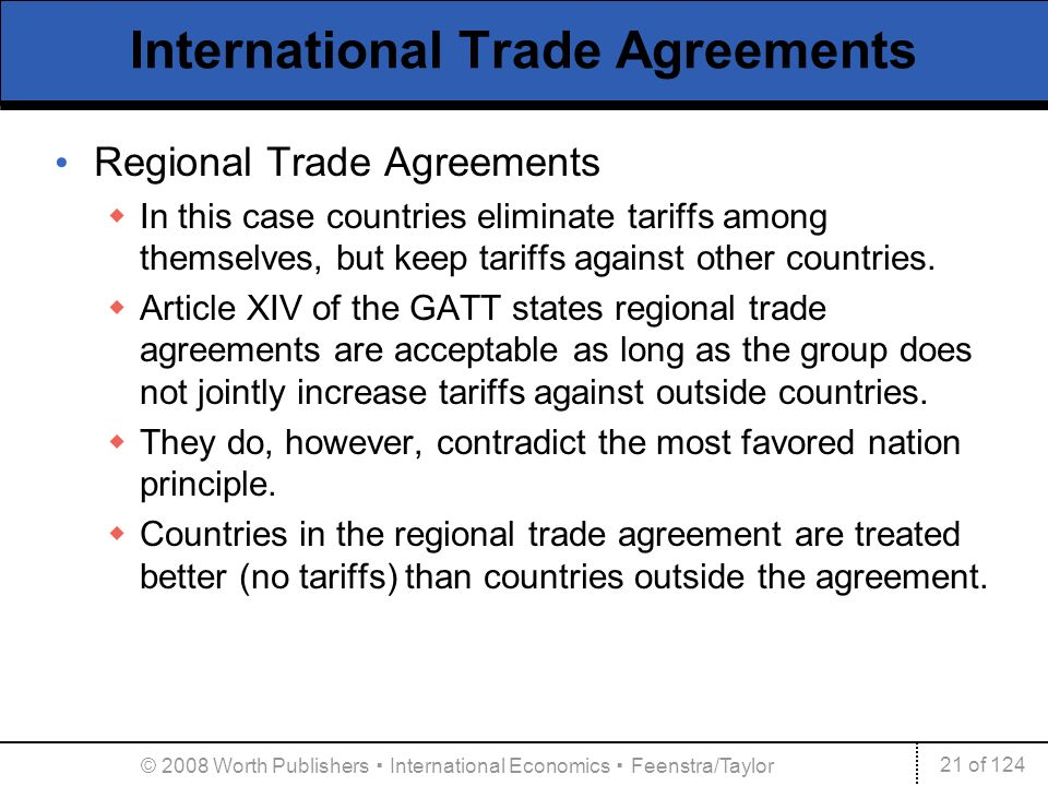 International agreements trade labor and the environment ppt international trade agreements platinumwayz