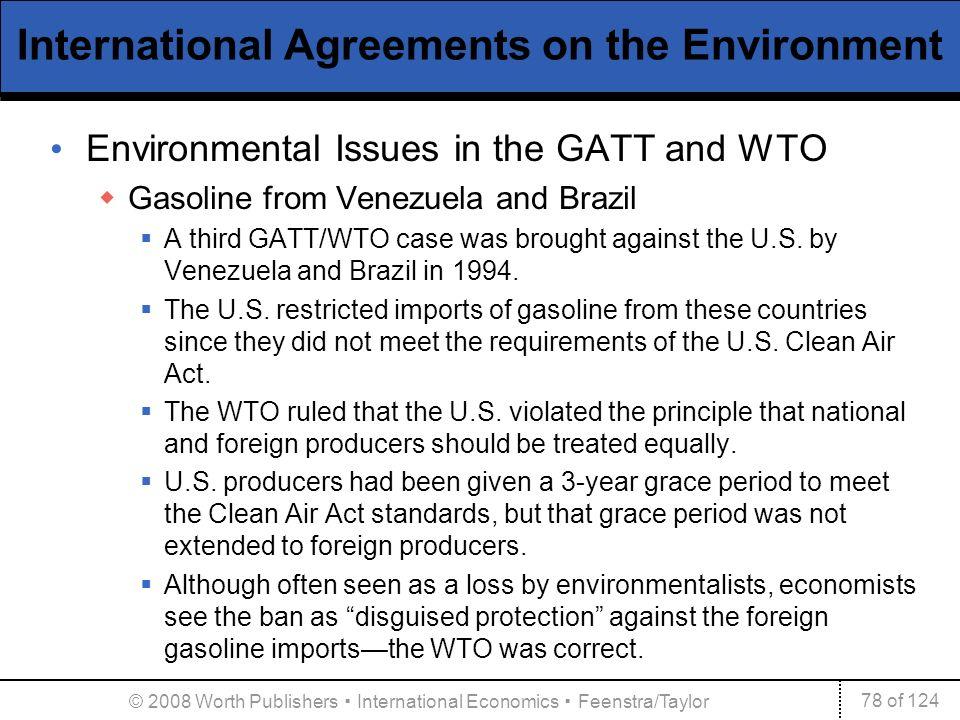 International agreements trade labor and the environment ppt international agreements on the environment platinumwayz